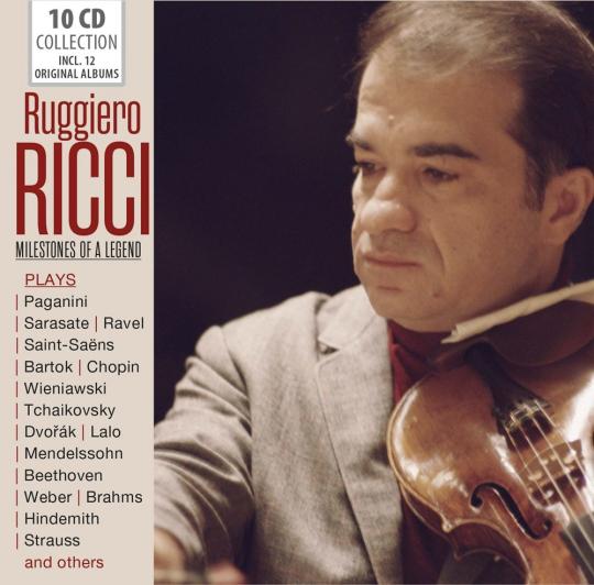 Ruggiero Ricci. Milestones of a Legend. 10 CDs.