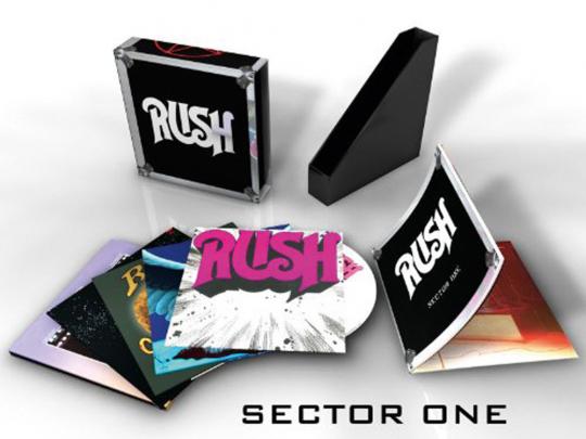 Rush : Sector 1. 5 CDs + AudioDVD Box