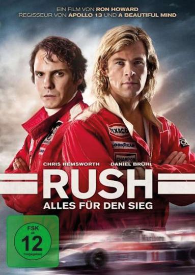 Rush. DVD.