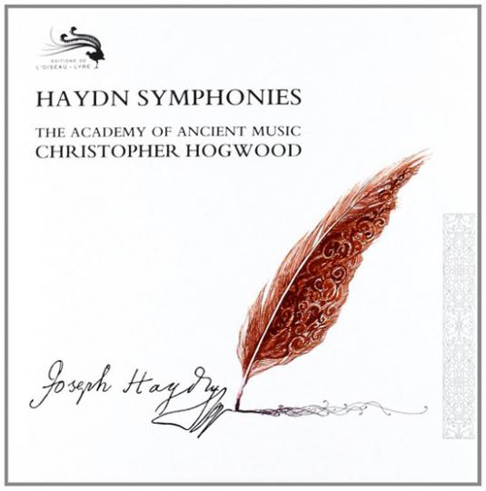 Sämtliche Sinfonien von Haydn. The Academy Of Ancient Music unter der Leitung von Christopher Hogwood.