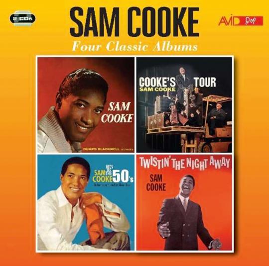 Sam Cooke. Four Classic Albums. 2 CDs.