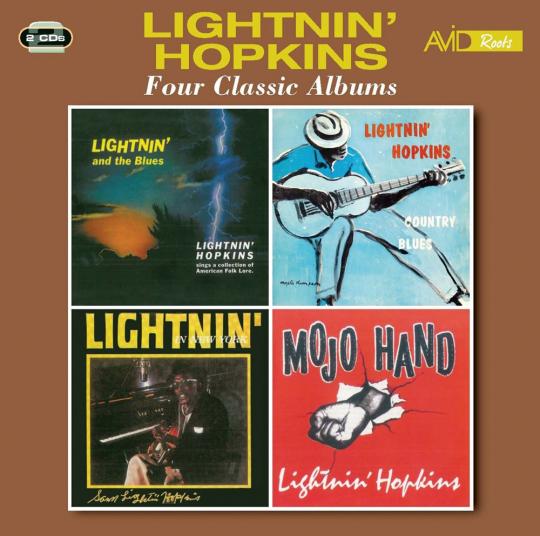 Sam Lightnin' Hopkins. Four Classic Albums. 2 CDs.