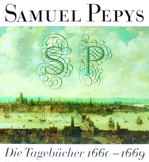 Samuel Pepys. Die Tagebücher 1660-1669. 6 Bände.
