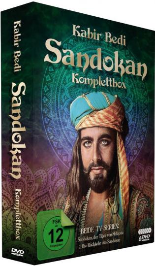 Sandokan (Komplettbox). 6 DVDs.