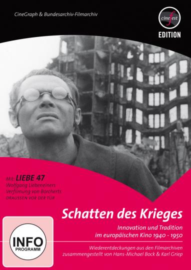 Schatten des Krieges. Innovation und Tradition im europäischen Kino 1940-1950. DVD.
