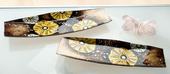Schiff-Schale »Golden Flower«.