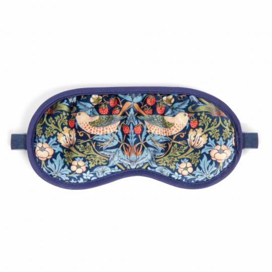 Schlafmaske »William Morris«, blau.