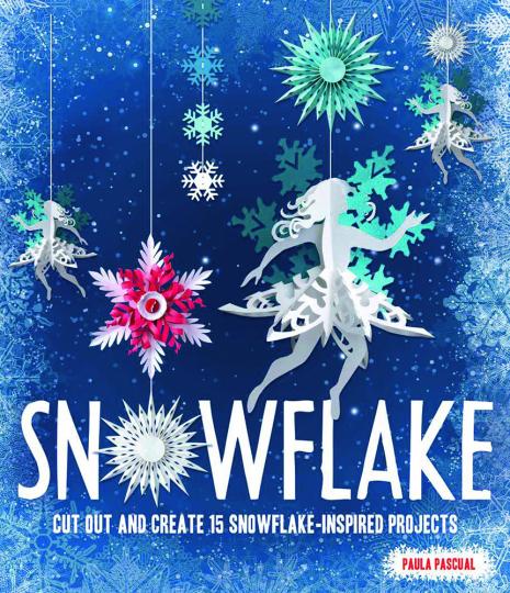 Schneeflocken selber gestalten. 15 Inspirationen für wundervolle Papier-Schneeflocken.
