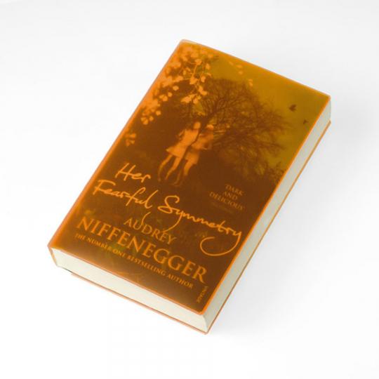 Schutzhülle für Taschenbücher »Cover Up«, orange.