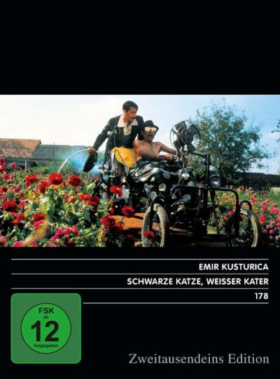 Schwarze Katze, weisser Kater. DVD.