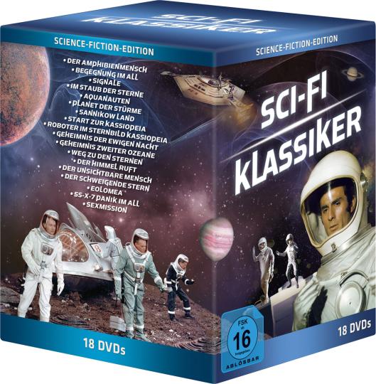 Sci-Fi Klassiker Box. 18 DVDs.
