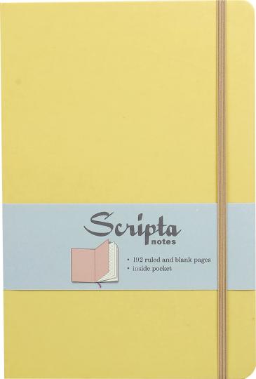 Scripta. Großes Notizbuch »Honeysuckle«.