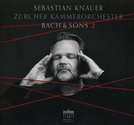 Sebastian Knauer. Bach & Sons 2. CD.