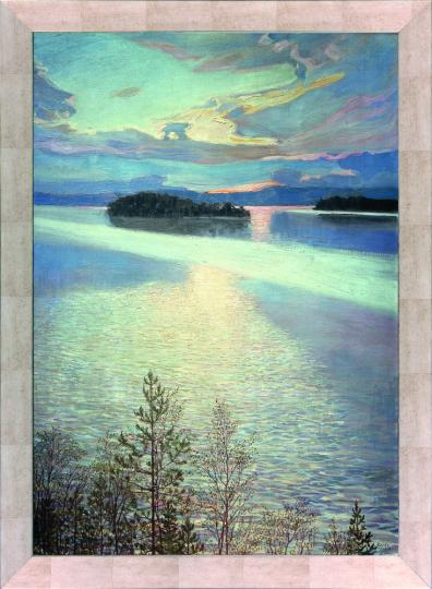 Seeblick. Akseli Gallen-Kallela (1865-1931).