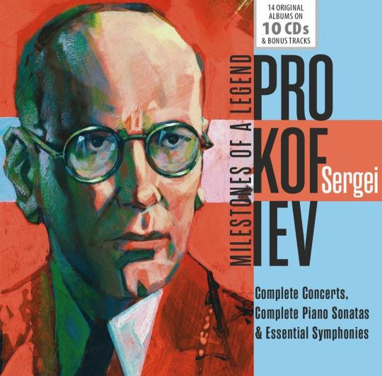 Serge Prokofieff. Milestones of a Legend. 10 CDs.