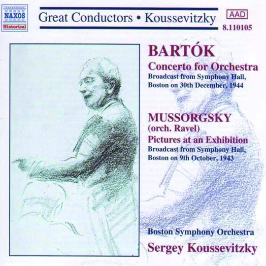 Sergey Koussevitzky. Dirigiert das Boston Symphony Orchestra. CD.