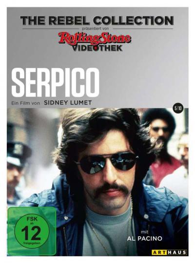 Serpico (The Rebel Collection). DVD.