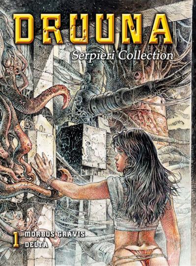 Serpieri Collection 1. Druuna. Graphic Novel.