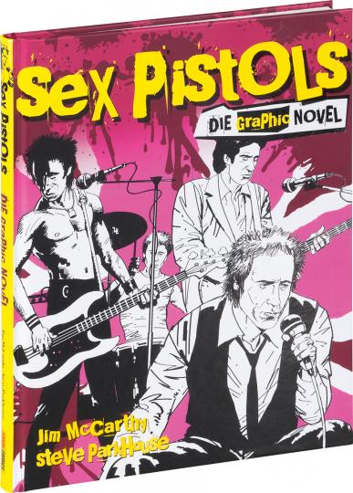 Sex Pistols. Graphic Novel.