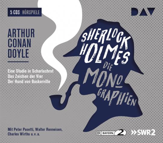 Sherlock Holmes 1 - Die Monographien. 5 CDs.