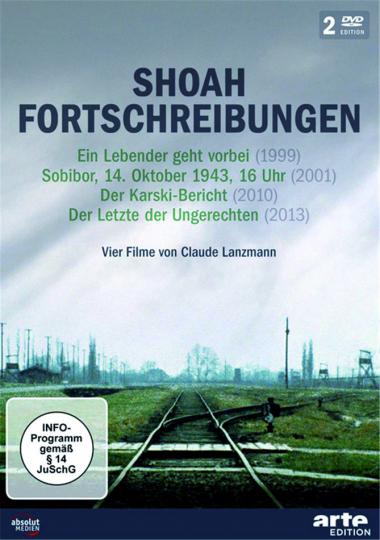 SHOAH Fortschreibungen. 4 Filme von Claude Lanzmann. 2 DVDs.