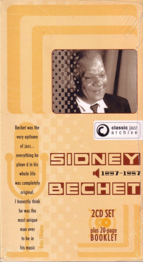 Sidney Bechet. Maple Leaf Rag / Sidney's Blues. Classic Jazz Archive. 2 CDs.