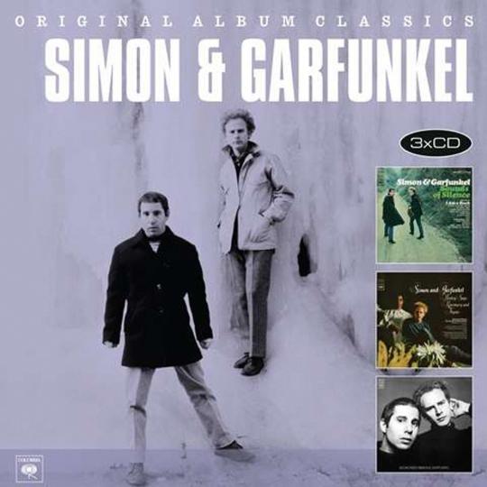 Simon & Garfunkel. Original Album Classics. 3 CDs.