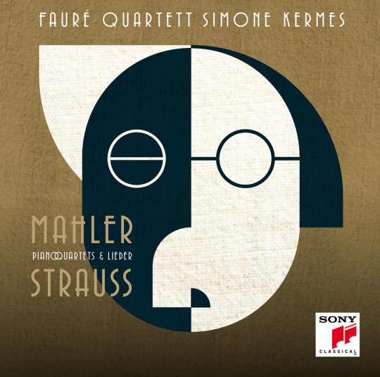 Simone Kermes. Strauss & Mahler - Klavierquartette & Lieder. CD.