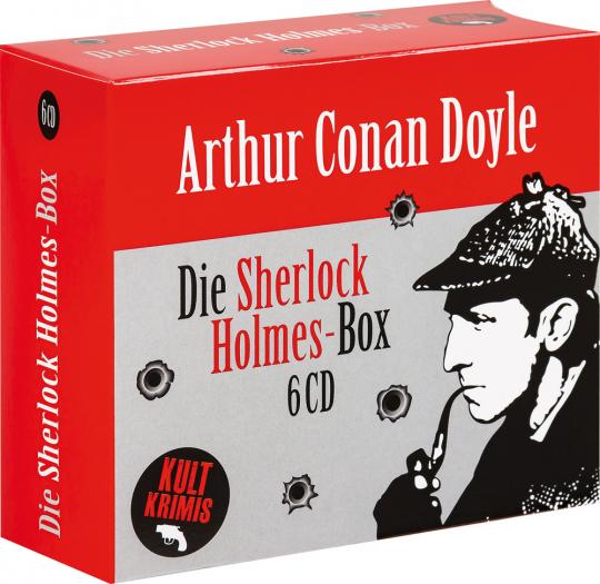 Sir Arthur Conan Doyle. Die große Sherlock Holmes-Box. 6 CDs.
