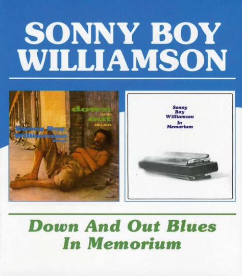 Sonny Boy Williamson. Down And Out Blues / In Memorium. CD.