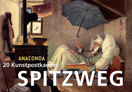 Spitzweg. 20 Kunstpostkarten.