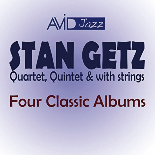 Stan Getz. Four Classic Albums. 2 CDs.