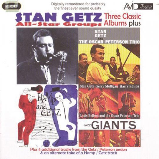 Stan Getz. Three Classic Albums. 2 CDs.