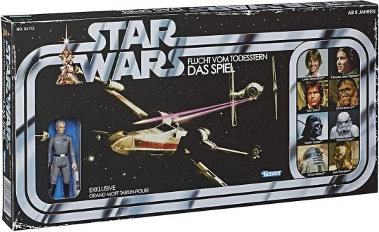 Star Wars Retro Spiel. Flucht vom Todesstern.
