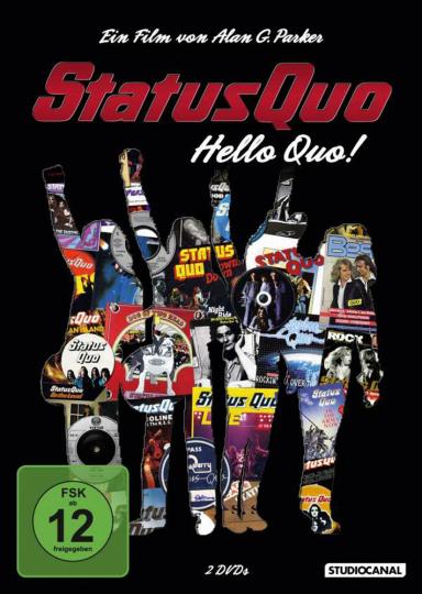 Status Quo. Hello Quo! 2 DVDs.