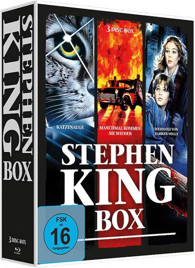 Stephen King Box. 3 DVDs.