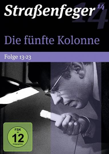 Straßenfeger 14. Die besten Krimis der 60er und 70er Jahre. Die fünfte Kolonne - Folge 13-23. 4 DVDs.