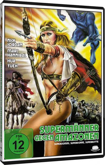 Supermänner gegen Amazonen. DVD