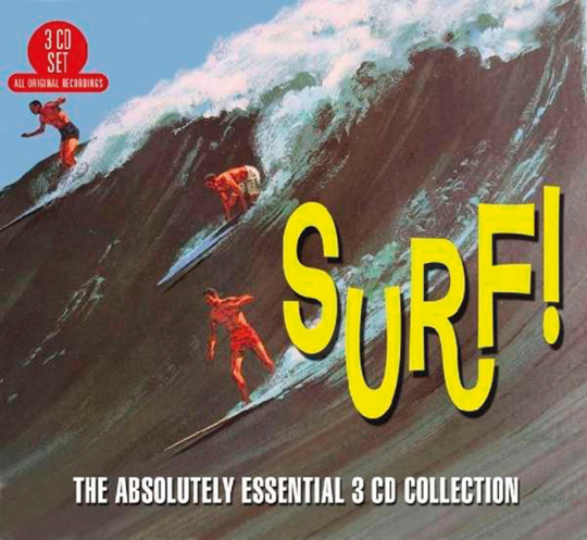 Surf! The Absolutely Essential Collection. 3 CDs.