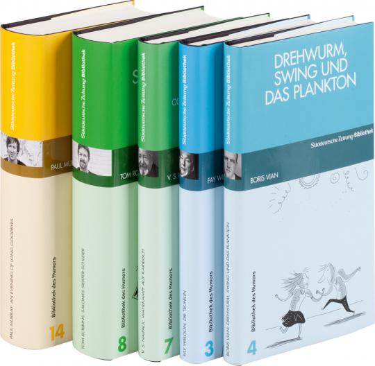 SZ Bibliothek des Humors. 5 Bände.
