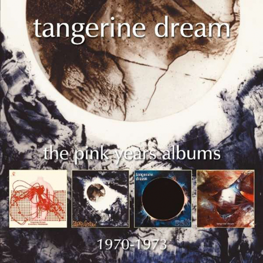 Tangerine Dream. The Pink Years Albums: 1970 - 1973. 4 CDs.