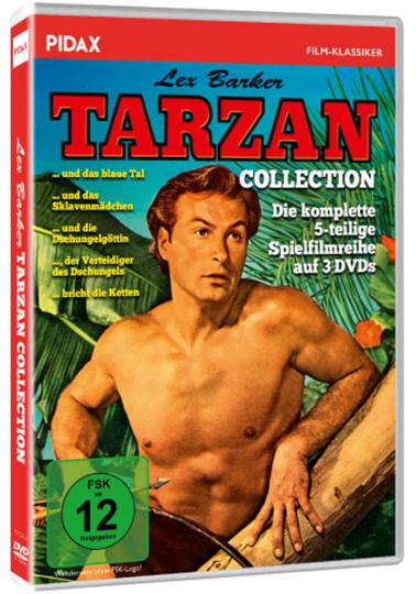 Tarzan Lex Barker Collection. 3 DVDs.