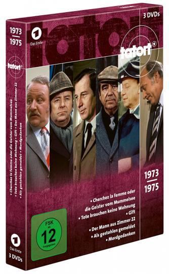 Tatort Klassiker - Die 70er. 3 DVDs.