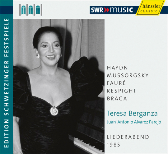Teresa Berganza. Liederabend. CD.