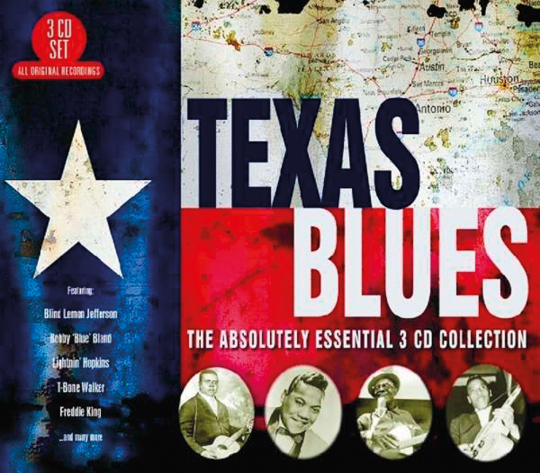 Texas Blues. The Absolutely Essential Collection. 3 CDs.