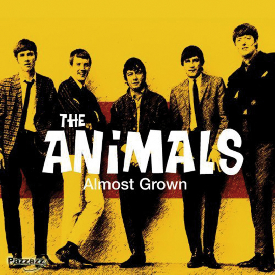 The Animals. Almost Grown. CD.
