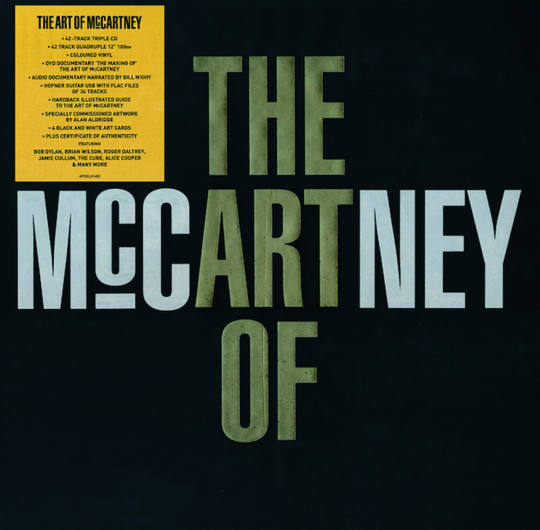 The Art of McCartney. Deluxe Edition (4 CDs, 4 LPs, 1 DVD).