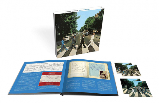 The Beatles. Abbey Road - 50th Anniversary (Limited Edition). 3 CDs, 1 Blu-Ray Audio.