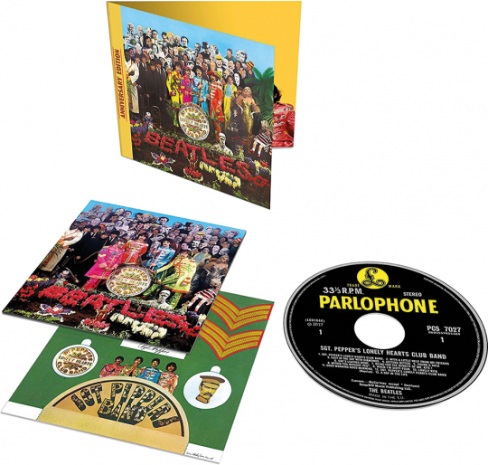 The Beatles. Sgt. Pepper's Lonely Hearts Club Band. 50th Anniversary Edition. CD.