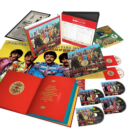The Beatles. Sgt. Pepper's Lonely Hearts Club Band. Limitierte Super Deluxe Edition. 6 Discs.
